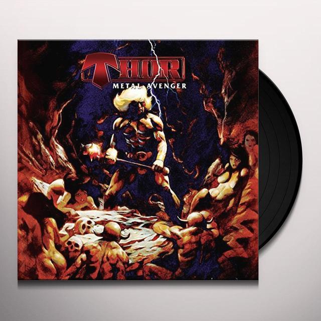 Thor METAL AVENGER Vinyl Record