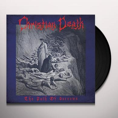Christian Death PATH OF SORROWS Vinyl Record