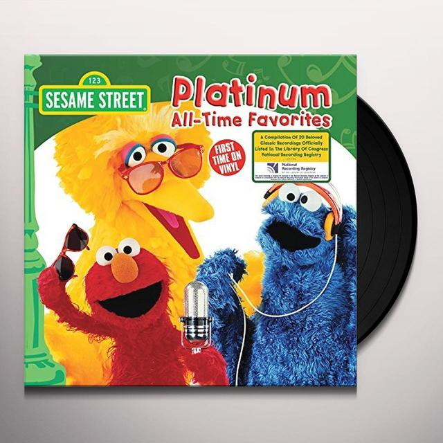 Sesame Street PLATINUM ALL-TIME FAVORITES Vinyl Record