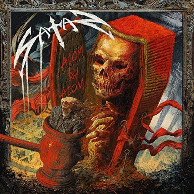 Satan ATOM BY ATOM Vinyl Record