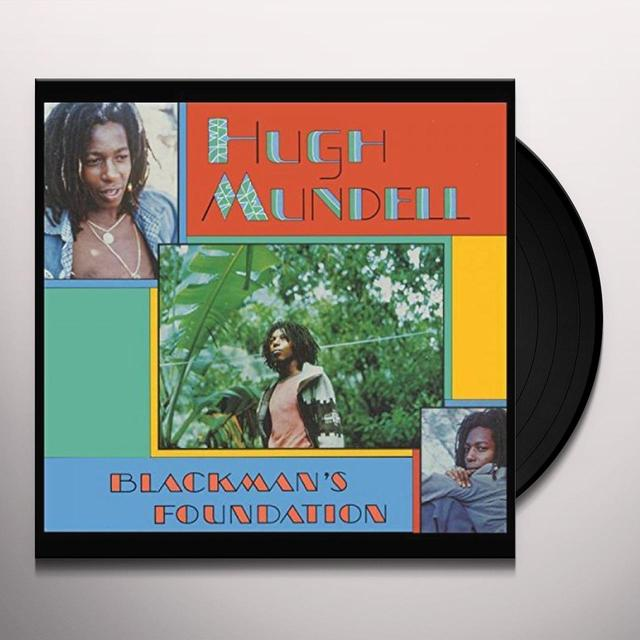 Hugh Mundell BLACKMAN'S FOUNDATION Vinyl Record