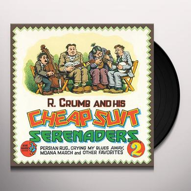 R. Crumb & His Cheap Suit Serenaders No.2 PERSIAN RUG CRYING MY BLUES AWAY MOANA MARCH Vinyl Record