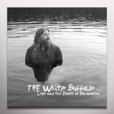 White Buffalo LOVE & THE DEATH OF DAMNATION Vinyl Record - Clear Vinyl, 180 Gram Pressing