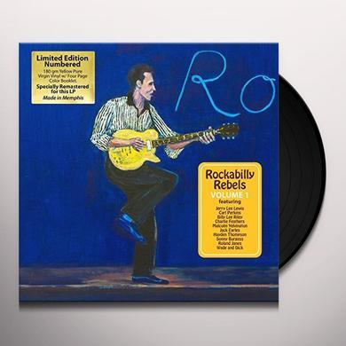 ROCKABILLY REBELS 1 / VARIOUS Vinyl Record
