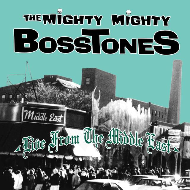 Mighty Mighty Bosstones LIVE FROM THE MIDDLE EAST Vinyl Record - Blue Vinyl, Colored Vinyl, Gatefold Sleeve