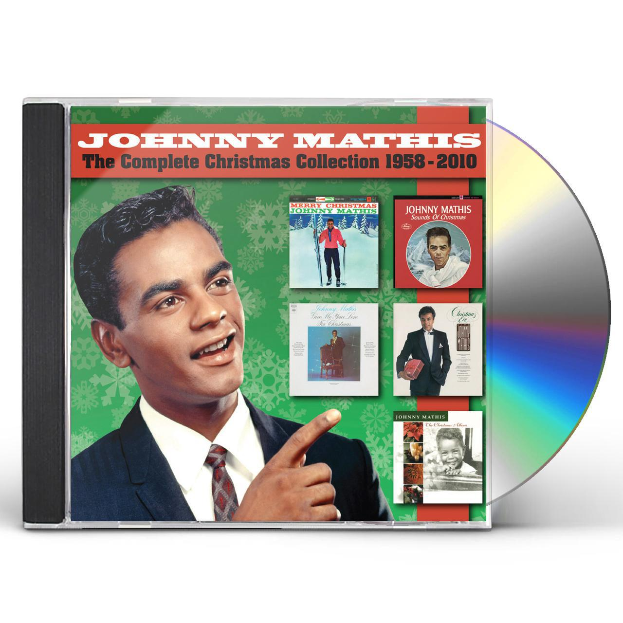 Johnny Mathis COMPLETE CHRISTMAS COLLECTION 1958-2010 CD