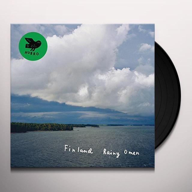 FINLAND RAINY OMEN Vinyl Record - w/CD