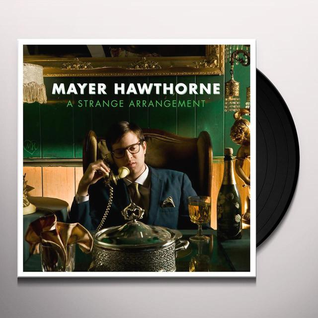 Mayer Hawthorne STRANGE ARRANGEMENT Vinyl Record