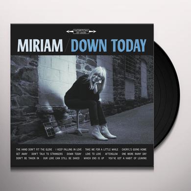 Miriam DOWN TODAY Vinyl Record