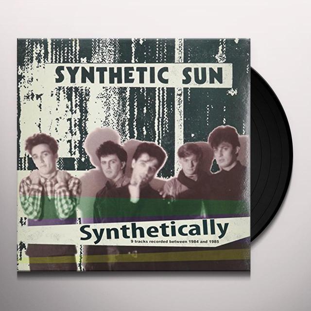 SYNTHETIC SUN SYNTHETICALLY Vinyl Record - Italy Import