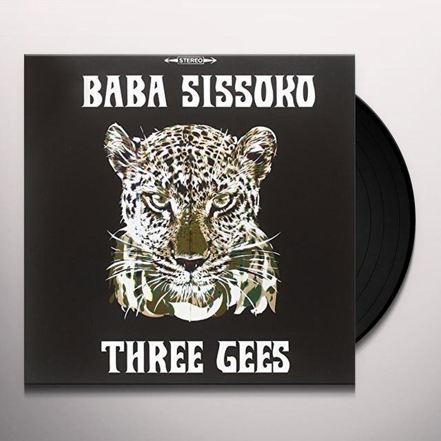 BABA SISSOKO THREE GEES Vinyl Record - Italy Import