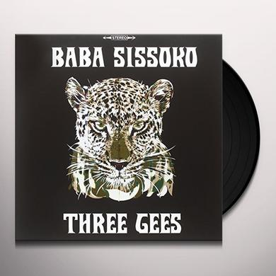 BABA SISSOKO THREE GEES Vinyl Record - Italy Import