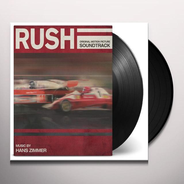 RUSH / O.S.T. (HOL) RUSH / O.S.T. Vinyl Record - Holland Import