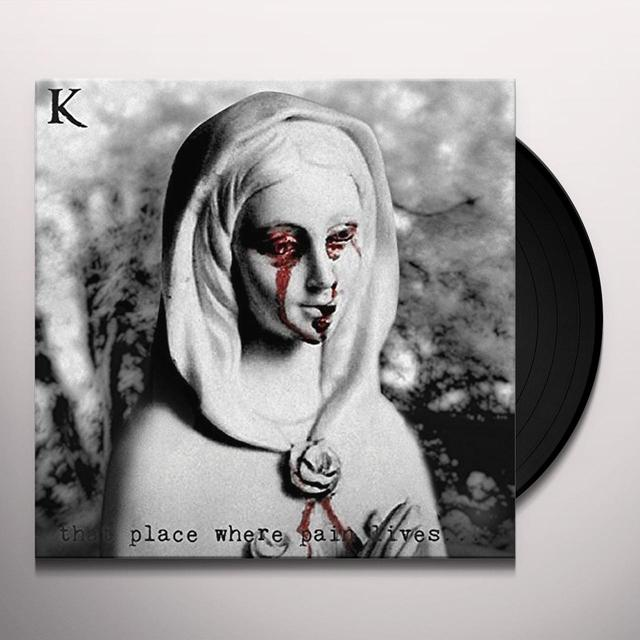 King 810 THAT PLACE WHERE PAIN LIVES Vinyl Record
