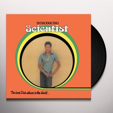 INTRODUCING SCIENTIST BEST DUB ALBUM IN THE WORLD Vinyl Record
