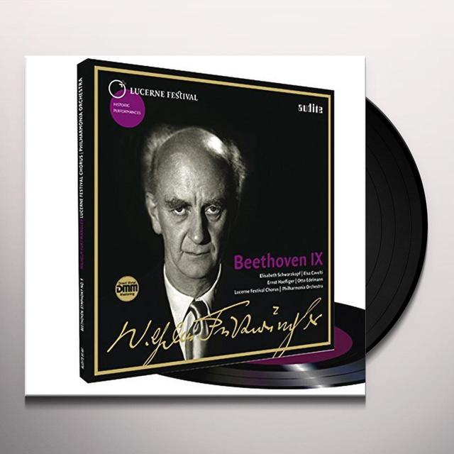 BEETHOVEN / FURTWANGLER / LUZERNER FESTIVAL CHORUS WILHELM FURTWAENGLER CONDUCTS BEETHOVEN'S SYMPHONY Vinyl Record