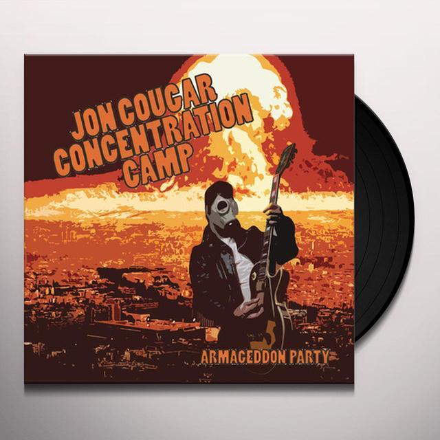 JON COUGAR CONCENTRATION CAMP ARMAGEDDON PARTY Vinyl Record