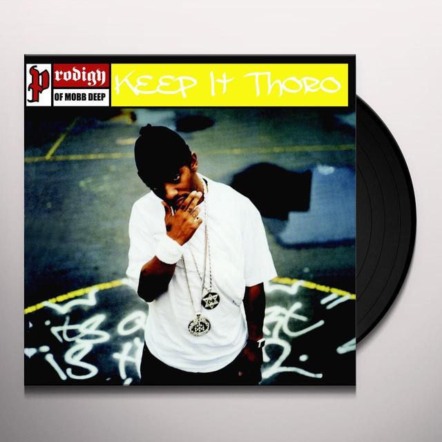 Prodigy Of Mobb Deep KEEP IT THORO Vinyl Record