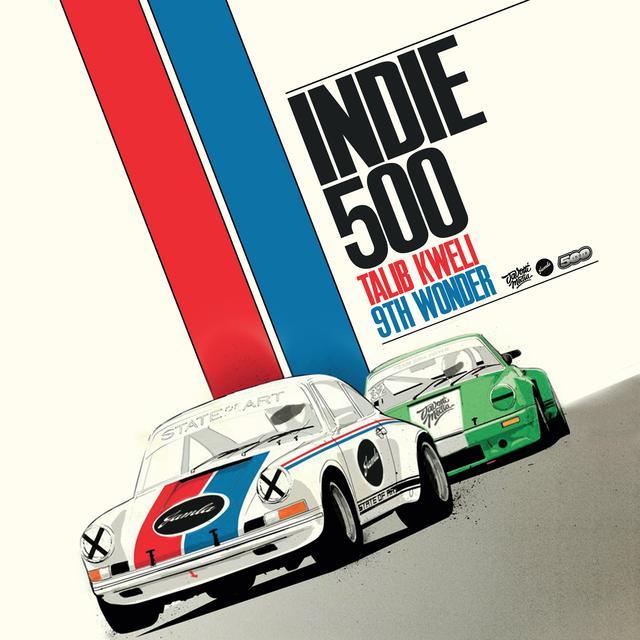 9Th Wonder & Talib Kweli INDIE 500 Vinyl Record