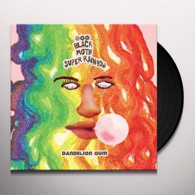 Black Moth Super Rainbow DANDELION GUM Vinyl Record - Black Vinyl, Digital Download Included