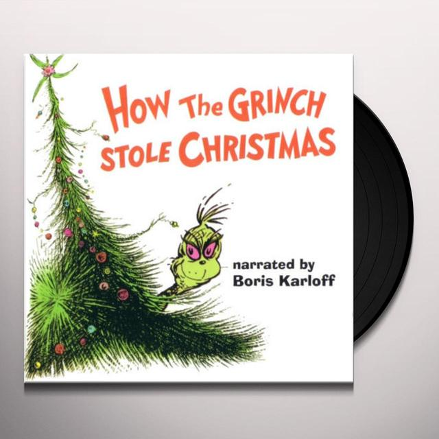 DR SEUSS HOW THE GRINCH STOLE CHRISTMAS / VARIOUS Vinyl Record