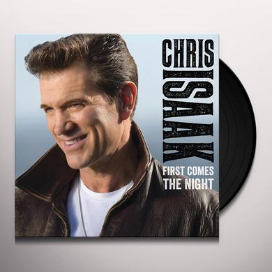 Chris Isaak FIRST COMES THE NIGHT Vinyl Record - Gatefold Sleeve, Deluxe Edition