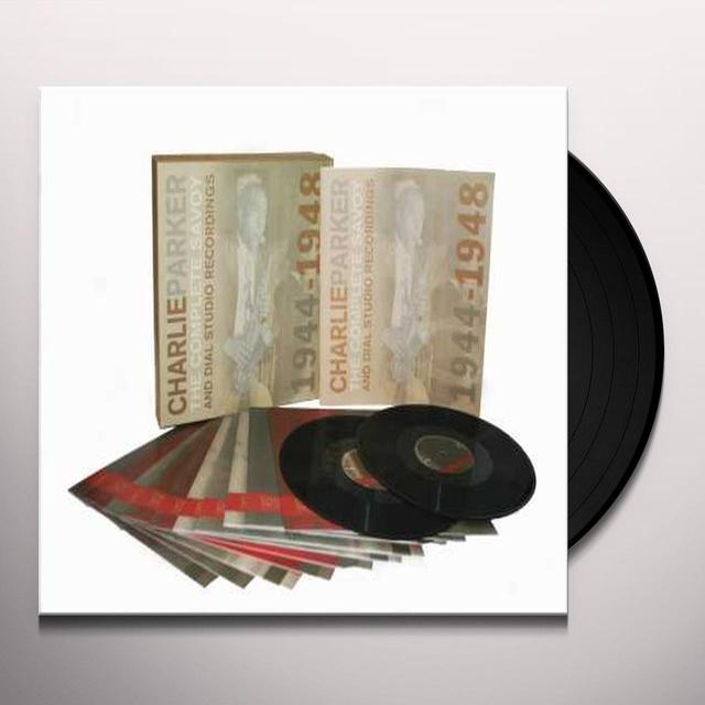 Charlie Parker COMPLETE SAVOY DIAL RECORDINGS  (BOX) Vinyl Record - 180 Gram Pressing