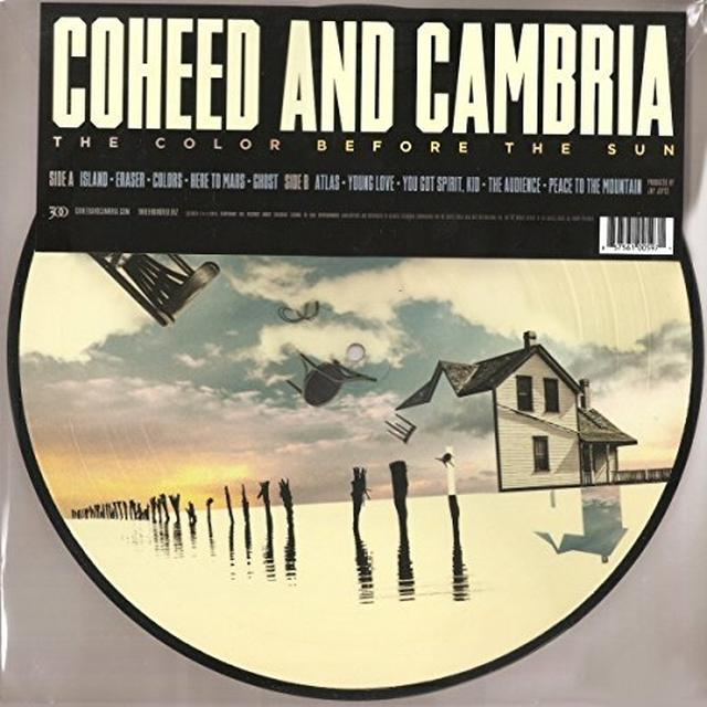 Coheed and Cambria COLOR BEFORE THE SUN Vinyl Record