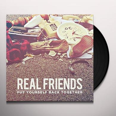 Real Friends PUT YOURSELF BACK TOGETHER Vinyl Record