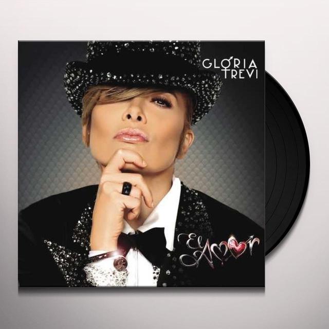 Gloria Trevi EL AMOR Vinyl Record - Deluxe Edition