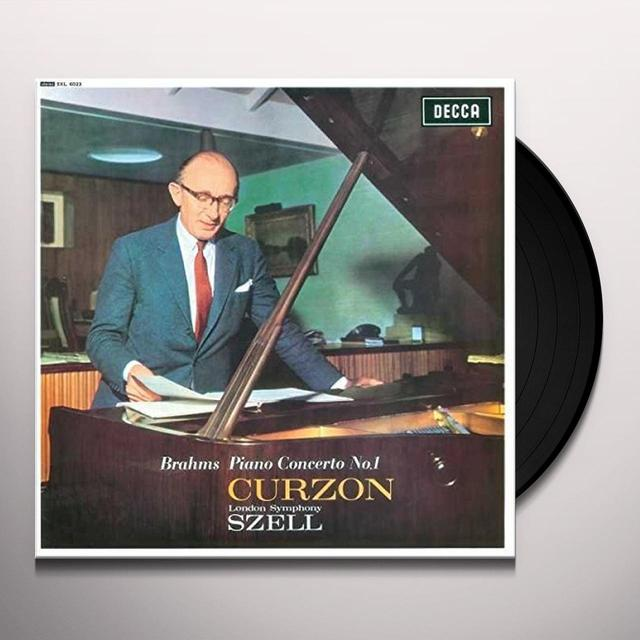 BRAHMS / CURZON / SZELL / LONDON SYMPHONY ORCHESTR PIANO CONCERTO NO 1 IN D MINOR Vinyl Record - 180 Gram Pressing
