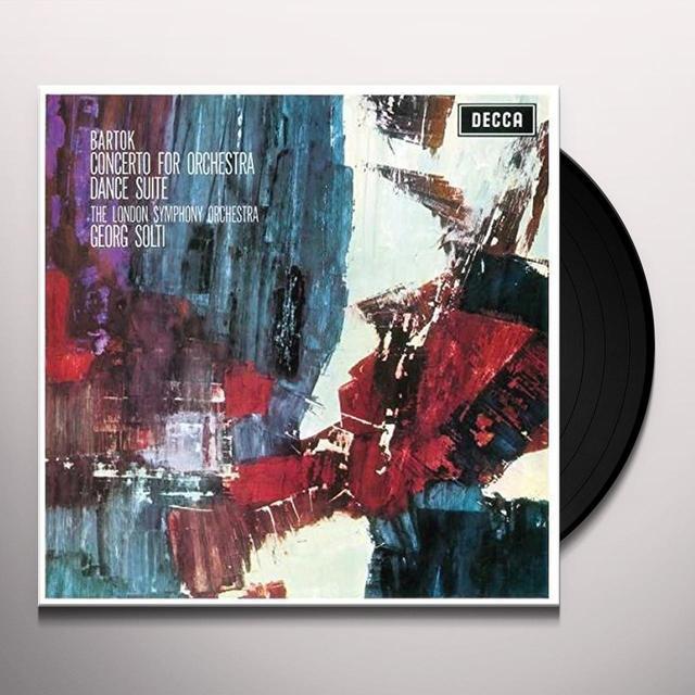 BARTOK / SOLTI / LONDON SYMPHONY ORCHESTRA CONCERTO FOR ORCHESTRA / DANCE SUITE Vinyl Record