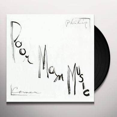Philip Corner POORMANMUSIC Vinyl Record