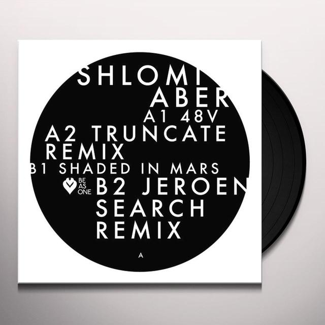 Shlomi Aber 48V / SHADED IN MARS (INCL. TRUNCATE & JEROEN) Vinyl Record