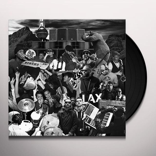 Swindle PEACE LOVE & MUSIC Vinyl Record
