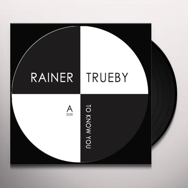 Rainer Trueby TO KNOW YOU / AYERS ROCK Vinyl Record