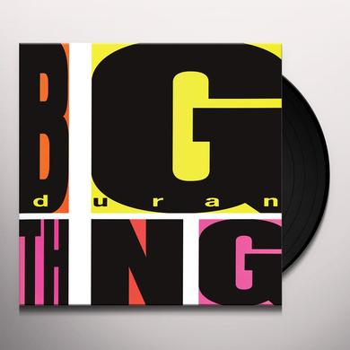 Duran Duran BIG THING Vinyl Record - 180 Gram Pressing