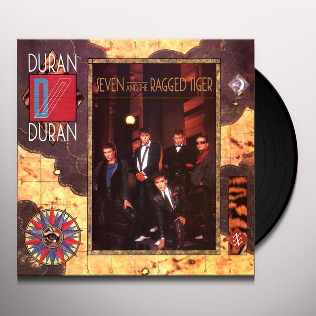 Duran Duran SEVEN & THE RAGGED TIGER Vinyl Record - 180 Gram Pressing