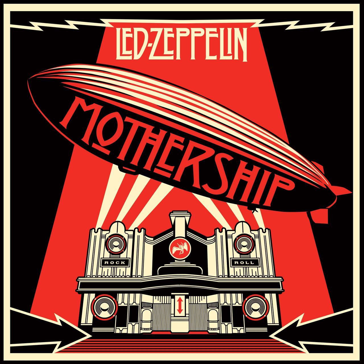 Led Zeppelin Mothership Vinyl Record