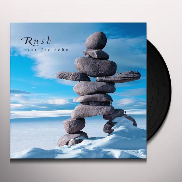 Rush TEST FOR ECHO Vinyl Record