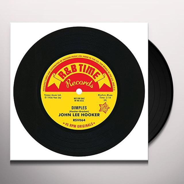 John Lee Hooker DIMPLES / BOOM BOOM / SHE'S MINE Vinyl Record - UK Import