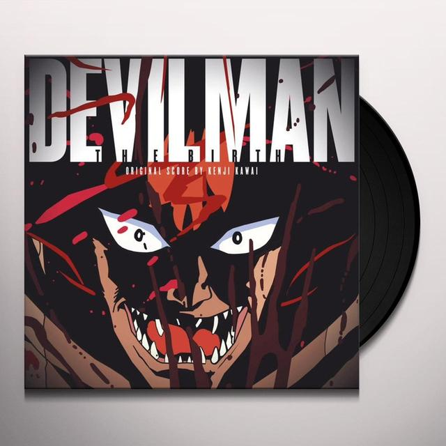 Kenji Kawai DEVILMAN THE BIRTH / O.S.T. Vinyl Record - Gatefold Sleeve, 180 Gram Pressing, Remastered