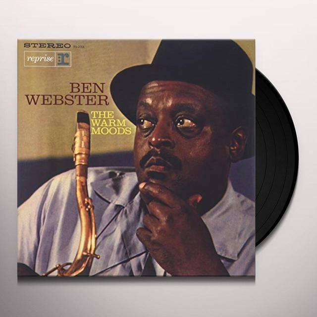 Ben Webster WARM MOODS Vinyl Record - 180 Gram Pressing