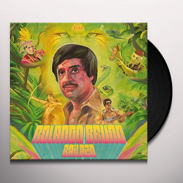 Rolando Bruno BAILAZO Vinyl Record - w/CD