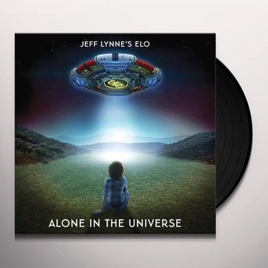 JEFF LYNNE'S ELO: ALONE IN THE UNIVERSE Vinyl Record
