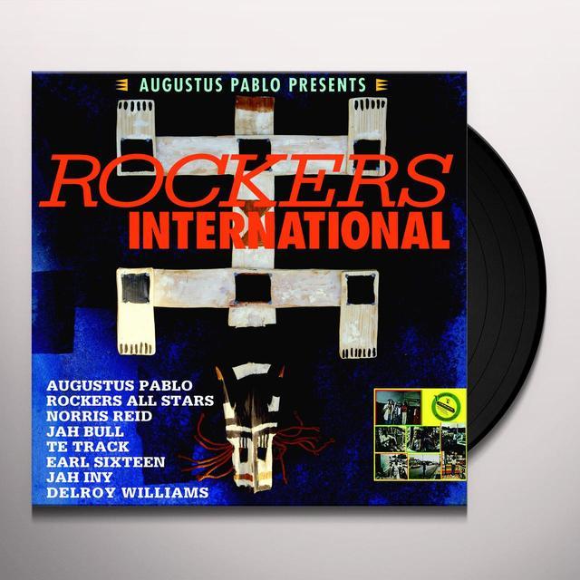 Augustus Pablo ROCKERS INTERNATIONAL Vinyl Record