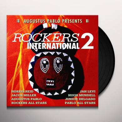 Augustus Pablo ROCKERS INTERNATIONAL 2 Vinyl Record