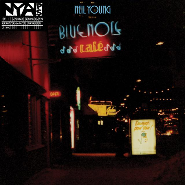 Neil Young & Bluenote Cafe BLUENOTE CAFE Vinyl Record