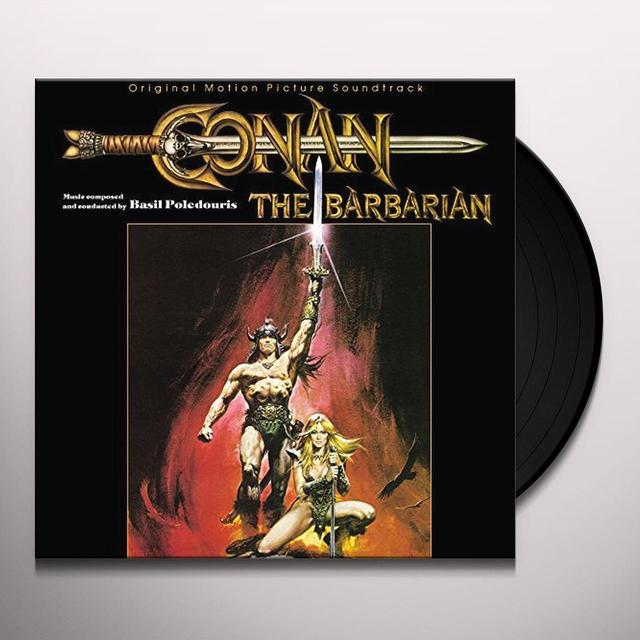 Basil Poledouris CONAN THE BARBARIAN / O.S.T. Vinyl Record
