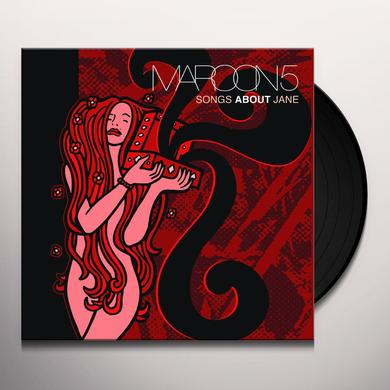 Maroon 5 SONGS ABOUT JANE Vinyl Record - Gatefold Sleeve, 180 Gram Pressing, Deluxe Edition